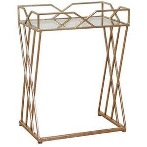 Telefontisch in Gold Italienisches Design
