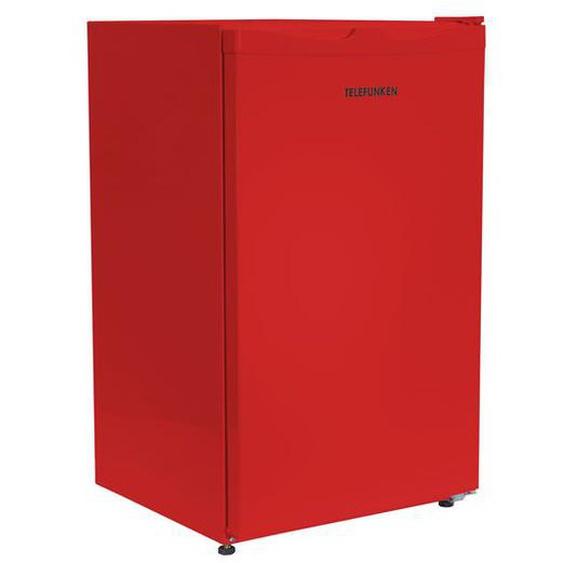 TELEFUNKEN CF-33-100-R Kühlschrank - A+ (113 kWh/Jahr) - 88 Liter - Türanschlag wechselbar - Höhenverstellbare Füße