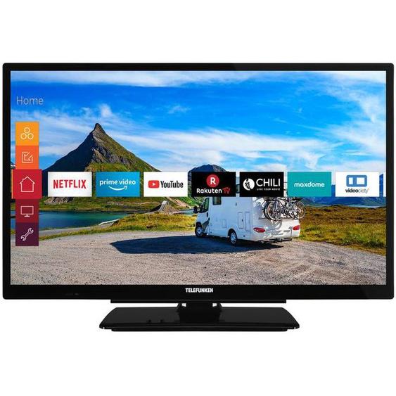 TELEFUNKEN XF22G501V 55 cm (22 Zoll) Fernseher (Full HD, Triple Tuner, Smart TV, 12 V)