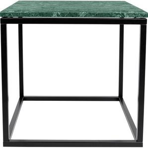 TemaHome Beistelltisch Praise, in unterschiedlichen Farben der Tischplatte und des Gestells erhältlich, Breite 50 cm B/H/T: x cm, Schwarzes Beingestell grün Beistelltische Tische