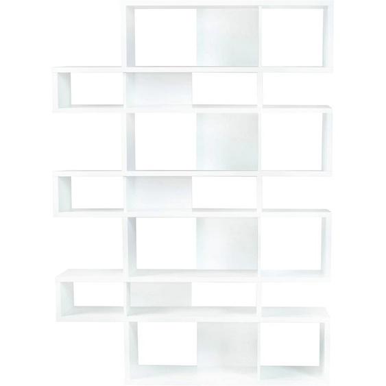 TemaHome Regal London, in vielen unterschiedlichen Farbvarianten und Höhen, mit dekorativer Rahmenoptik B/H/T: 156 cm x 220 34 weiß Regalwürfel Weitere Regale