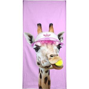 Tennis Giraffe - Handtuch