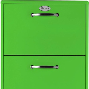 Tenzo Schuhschrank Malibu, mit 3 Schubladen, Design von Rutger Anderson B/H/T: 58 cm x 121 41 grün Schuhschränke Garderoben Nachhaltige Möbel