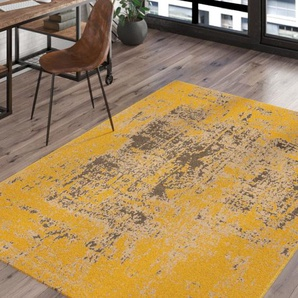 Teppich Ace in Gelb