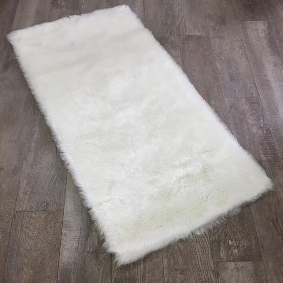 Teppich Aditya in Weiß