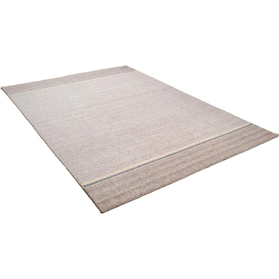 Teppich, Alaska, THEKO, rechteckig, Höhe 7 mm, handgewebt 7, 250x300 cm, mm braun Teppiche