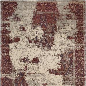 Teppich »Antique 3«, LUXOR living, rechteckig, Höhe 10 mm, besonders weich durch Microfaser, Vintage Design