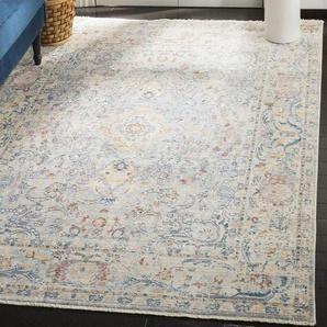Teppich Auerbach in Hellblau/Creme