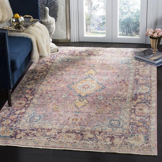 Teppich Auerbach in Lila