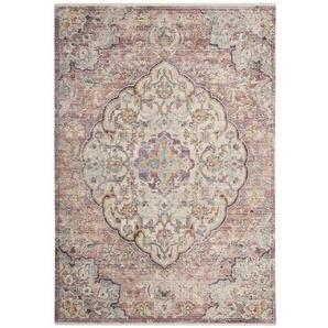 Teppich Totnes in Cremefarben/Rosa