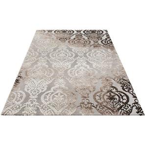 Teppich »Bahar«, merinos, rechteckig, Höhe 12 mm, Vintage, Hoch-Tief-Struktur