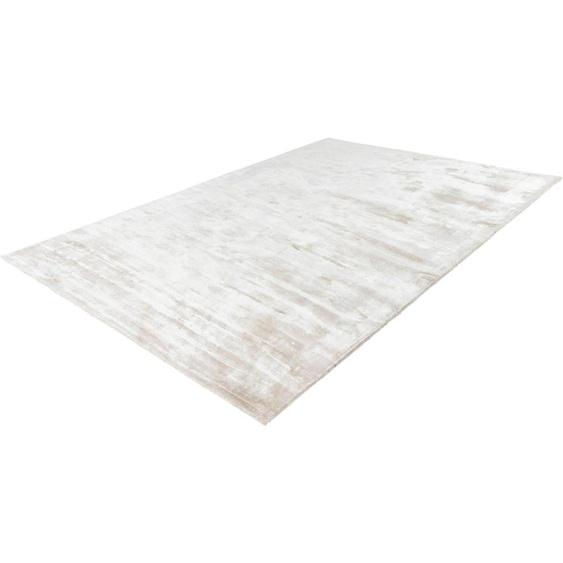 Teppich »Bamboo 900«, LALEE, rechteckig, Höhe 13 mm, Viskose, Wohnzimmer