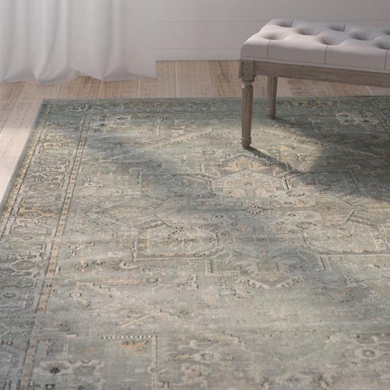 Teppich Batchtown in Grau