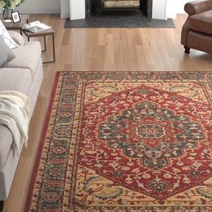 Teppich Boswell aus Kuhfell in Braun/Weiß