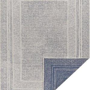 Teppich »Bernard«, Home affaire, rechteckig, Höhe 5 mm, Wendeteppich, In- und Outdoor geeignet, Wohnzimmer