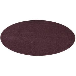 Teppich »Buffalo«, Living Line, rund, Höhe 15 mm, Velours