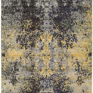 Teppich Casa Anthrazit/Gelb 80x150 cm