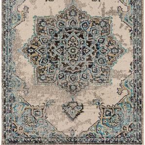 Teppich Casa Beige/Türkis 240x340 cm