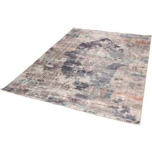 Teppich »Cecilia 068«, Gino Falcone, rechteckig, Höhe 3 mm, Flachgewebe, bedruckt, Vintage Design, Wohnzimmer