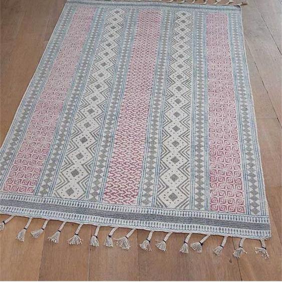Teppich Circus - bunt - 100 % Baumwolle - Teppiche