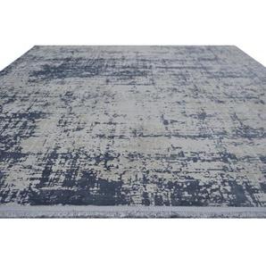 Teppich Cordoba in Jeansblau