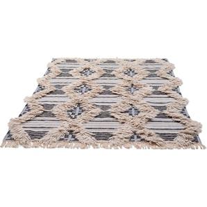 Orientteppich »Cozy Kelim«, TOM TAILOR, rechteckig, Höhe 5 mm, Hoch-Tief-Struktur
