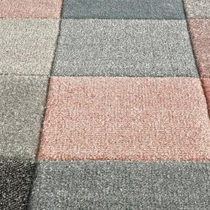 Teppich dekorativen Kästchenmuster