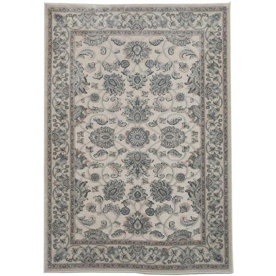 Teppich Dowdell in Elfenbein/Grau