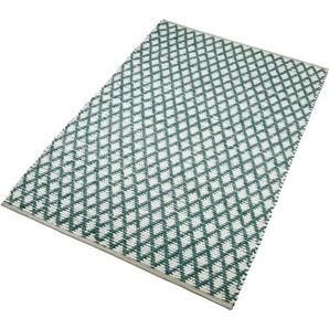 Teppich »Edge«, Home affaire, rechteckig, Höhe 10 mm, Wendeteppich, Wohnzimmer