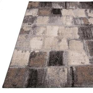 Teppich »ELEGANT MOSAIC«, merinos, rechteckig, Höhe 18 mm, Wohnzimmer