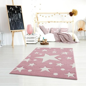 Teppich Estrella in Rosa