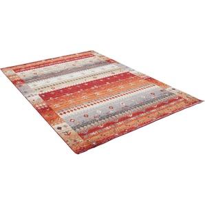 Teppich »Francesco 24719«, Gino Falcone, rechteckig, Höhe 14 mm, besonders weich durch Microfaser, Wohnzimmer