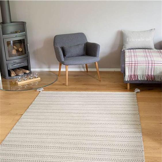 Teppich Frido - bunt - 80 % Wolle, 20 % Baumwolle - Teppiche