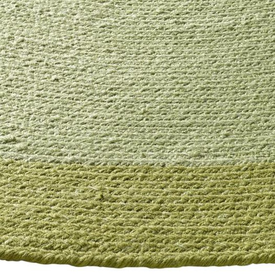 Teppich für In-und Outdoor 1, ca. 100 cm, rund grün Kurzflor-Teppiche Weitere Teppiche