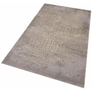 Teppich »Gayla«, merinos, rechteckig, Höhe 12 mm, Vintage, Hoch-Tief-Effekt