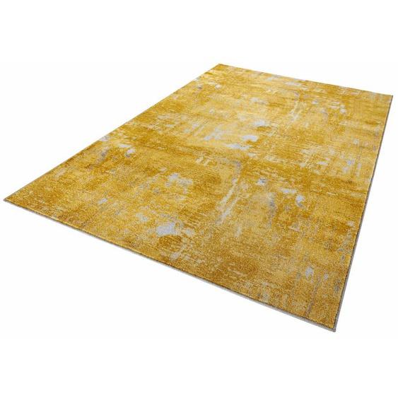 Teppich, Golden Gate, MINT RUGS, rechteckig, Höhe 10 mm, maschinell gewebt 4, 160x240 cm, mm goldfarben Kinder Bunte Kinderteppiche Teppiche