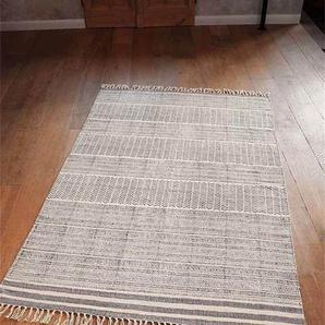 Teppich Grafik - bunt - 100 % Baumwolle - Teppiche