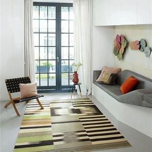 Teppich Ida - bunt - 80 % Wolle und 20 % Baumwolle. - Teppiche