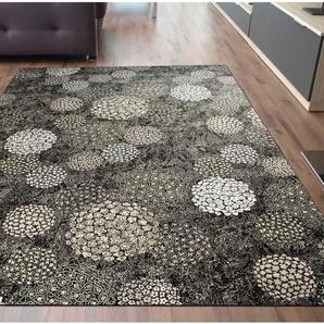 Teppich Imola in Schwarz