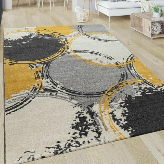 Teppich in Gelb