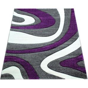 Teppich »Inferno 241«, Paco Home, rechteckig, Höhe 17 mm, Kurzflor mit wohnlichem Design, Wohnzimmer
