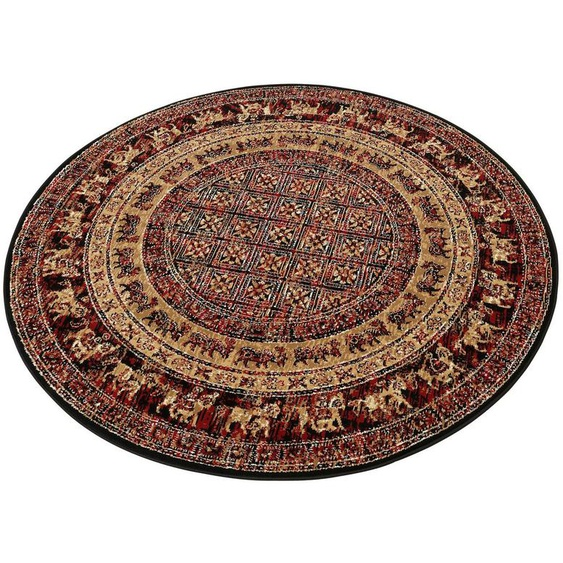 Teppich »Karavane«, my home, rund, Höhe 7 mm, Orient - Dekor, Wohnzimmer