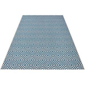 Teppich »Karo«, bougari, rechteckig, Höhe 8 mm, In- und Outdoorgeeignet, Sisal-Optik