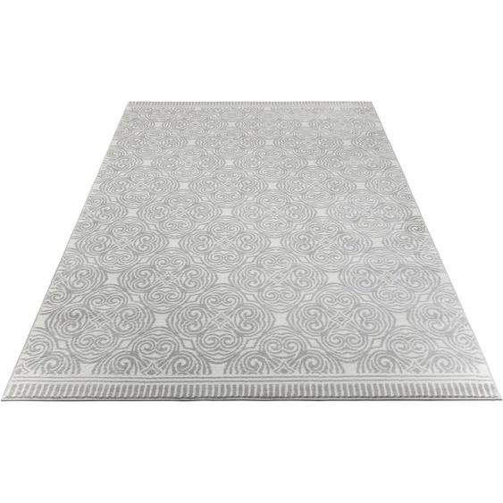 Teppich, Kusma, andas, rechteckig, Höhe 11 mm, maschinell gewebt 7, 240x320 cm, mm grau Kinder Bunte Kinderteppiche Teppiche