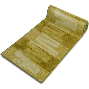 Teppich-Läufer auf Maß gekettelt   Via Veneto grün   Breite: 100 cm, Länge: 700 cm