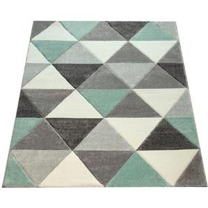 Teppich »Lara 276«, Paco Home, rechteckig, Höhe 18 mm, Kurzflor mit buntem geometrischen Design, Wohnzimmer
