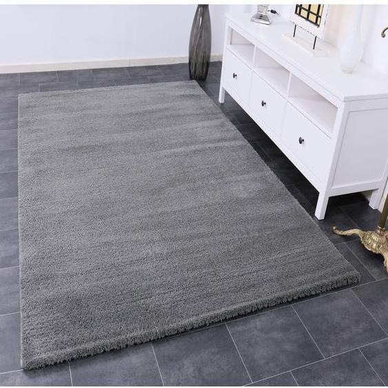 Teppich Larbi in Grau