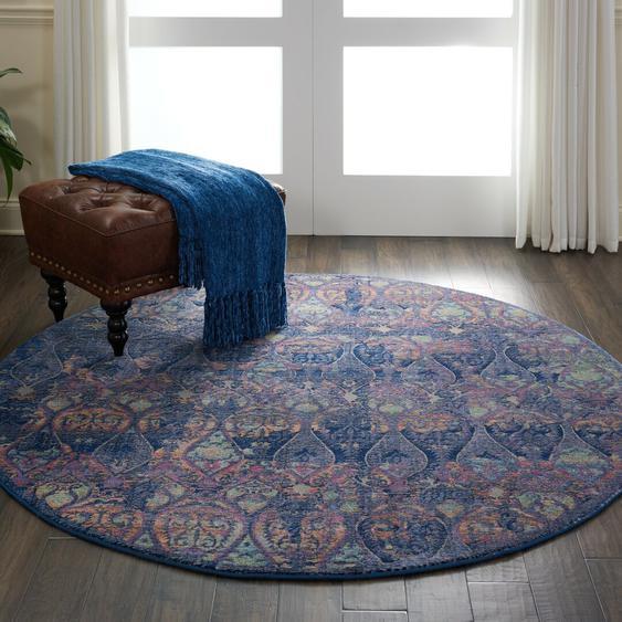 Teppich Larissa in Blau
