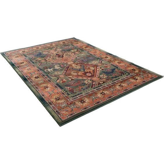 Teppich »Leonie«, THEKO, rechteckig, Höhe 10 mm, Orient-Optik, Wohnzimmer