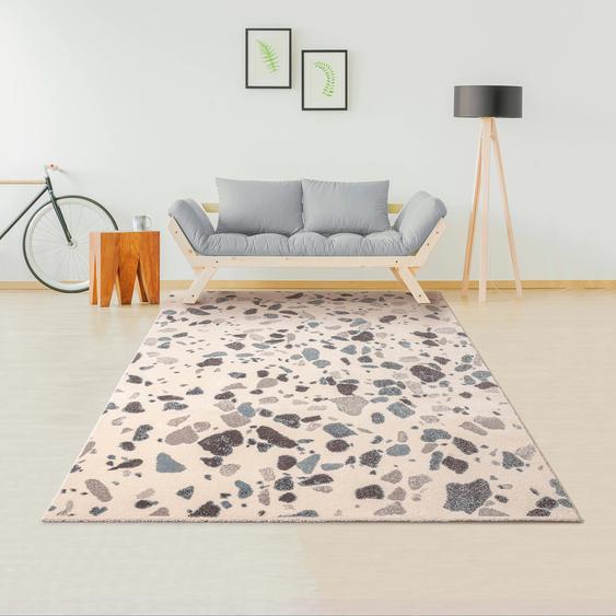 Teppich, Luca, my home, rechteckig, Höhe 14 mm, maschinell gewebt 7, 240x340 cm, mm beige Moderne Teppiche